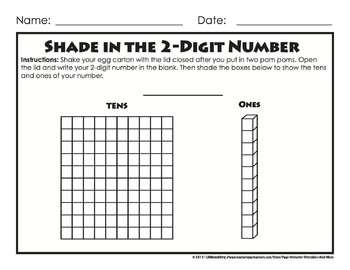 Place Value Egg Carton Math