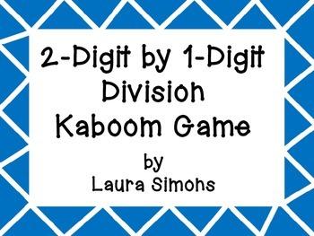 2-Digit by 1-Digit Division Kaboom
