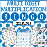 2 Digit by 1 Digit Multiplication BINGO