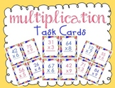 2 Digit by 1 Digit Multiplication Game Cards!