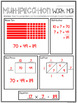 2 Digit by 1 Digit Multiplication Word Problems Task Cards & Worksheets