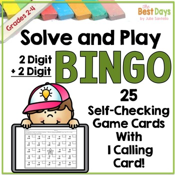 2 Digit Addition with Regrouping Bingo