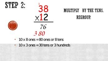 2 Digit by 2 Digit Multiplication