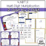 2 Digit by 2 Digit Multiplication 4.NBT.5
