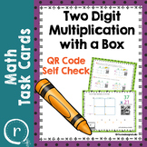 Double Digit Multiplication Area Model QR Codes