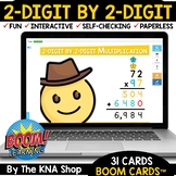 2-Digit by 2-Digit Multiplication Distance Learning End of