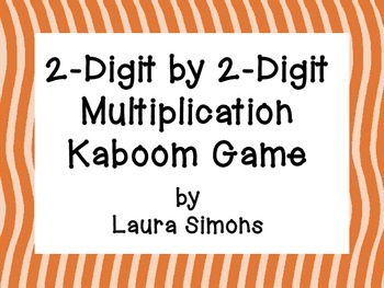 2-Digit by 2-Digit Multiplication Kaboom