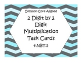 Multiplication Task Cards (2 Digit by 2 Digit)