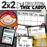 2-Digit by 2-Digit Multiplication Task Cards