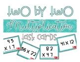 SOL 4.4b 2 Digit by 2 Digit Multiplication Task Cards