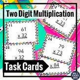 2 Digit by 2 Digit Multiplication Task Cards 4.NBT.5