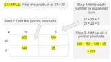 2 Digit by 2 Digit Multiplication Using Area Model - Googl