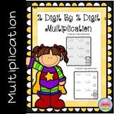 2 Digit by 2 Digit Multiplication Worksheets  May Morning Work