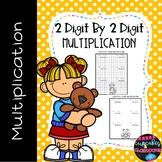 2 Digit by 2 Digit Multiplication Worksheets  Double Digit