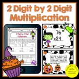 2 Digit by 2 Digit Multiplication Digital Worksheets and T