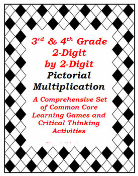 2-Digit by 2-Digit Visual Multiplication: Sets of Games & Activities