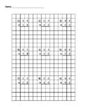 2 Digit by 2 Digit Standard Algorithm Quiz