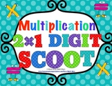 2 Digit Times 1 Digit Multiplication Scoot