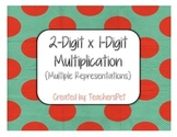 2-Digit x 1-Digit Multiplication Chart