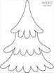 2 Digit x 2 Digit Multiplication Christmas Tree Glyph Craftivity