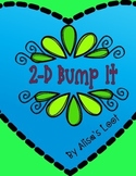 2 Dimensional Bump It Game