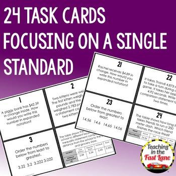 2 Dimensional Figures Task Cards