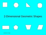 2-Dimensional Geometric Shapes