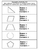 2-Dimensional Geometry Shape Identification Pack