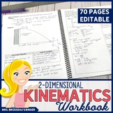 2-Dimensional Kinematics Workbook | Physics: 2-D Motion, Projectile Motion
