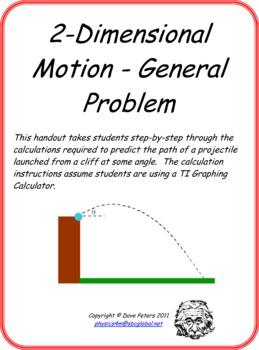 2-Dimensional Motion - General Problem
