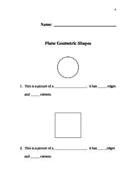 2-Dimensional Plane Shapes