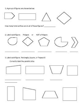 2 Dimensional Polygons