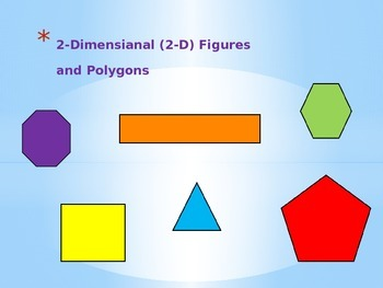 2-Dimensional Polygons & Open/Figures Figures