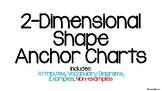 2-Dimensional Shape Anchor Charts