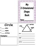 2-Dimensional Shape Book - Common Core Aligned