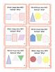2 Dimensional Shape Task Cards
