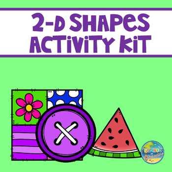 2-D Shapes Activity Kit