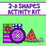 2-D Shapes Activity Kit