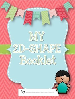2 Dimensional Shapes Booklet and Activity Pages