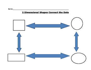 2 Dimensional Shapes Connect the Dots