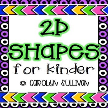 2 Dimensional Shapes : Geometry for Kinder