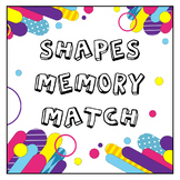 2-Dimensional Shapes Memory Matching Game