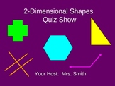 2-Dimensional Shapes Quiz Show