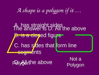 2-Dimensional Shapes Quiz Show