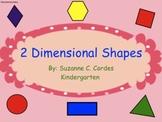 2-Dimensional Shapes - SMARTBoard lesson
