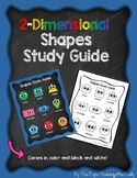 2-Dimensional Shapes Study Guide