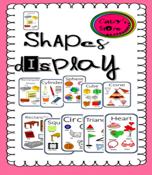 2 Dimensional shapes and 3 Dimensional Objects