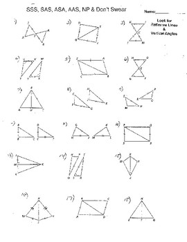 Triangle Congruence Similar Triangles Proportions Distance Midpoint Formula 8+