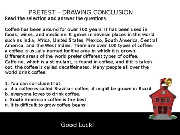 Drawing Conclusions-Complete Teacher Lesson on PowerPoint