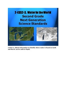2-ESS2-3. Water on Earth